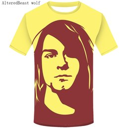 281e70b5b Discount nirvana t shirt men - Fashion 2019 Nirvana T Shirt Men Kurt Cobain  T-