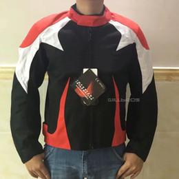 $enCountryForm.capitalKeyWord Australia - Motorcycle Alpine Oxford Jacket Racing Motorbike Motocross Street Bike Riding Suit with cotton lining