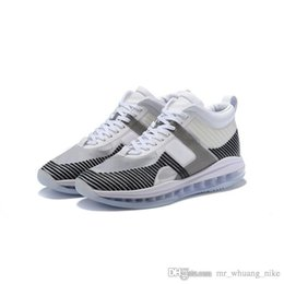 816aff2589811d Mens John Elliott lebron icon shoes for sale Black White Grey Boys Girls  youth kids new Lebrons 16 HFR outdoor sneakers boots with box