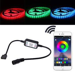 $enCountryForm.capitalKeyWord Australia - DC 5V-24V Bluetooth LED Light Controller Mini Wireless Dimmer 3 Channel RGB Led Controller For RGB LED Strip Light