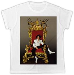 Pop Chair Australia - COOL MICHAEL JACKSON KING OF POP CHAIR POSTER UNISEX COOL FUNNY TSHIRT