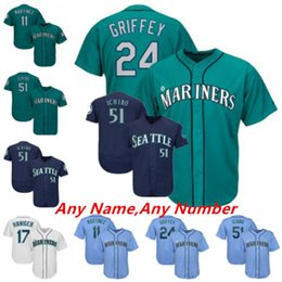 b6a648cc92b Seattle ShortS online shopping - Custom Seattle jerseys Edgar Martinez Ichiro  Suzuki Ken Griffey Jr Negron