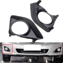 $enCountryForm.capitalKeyWord Australia - A Pair Car Front Fog Lights Bumper Lamp Grille Cover Bezel Frame Trim For Toyota Corolla 2007-2010