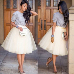 Skirt girl dancing online shopping - Women Skirt Spring Adult Layers Tulle Half Fashion Princess Girls Ballet Tutu Dance Skirt Ball Gown Partywear Black White Skirt