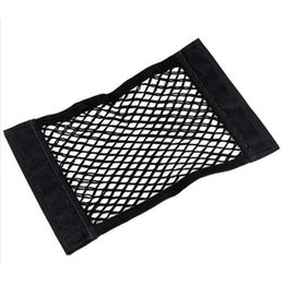 car mesh storage pocket Canada - Car Auto Back Rear Trunk Seat Elastic String Net Mesh Storage Bag Pocket Cages Dec 28