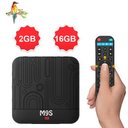 Media Player Australia - 1 PCS M9S W1 S905W Android TV Box 2GB 16GB Quad Core 100M Lan 2.4G WiFi 4K VP9 HDR10 IPTV Android 7.1 Smart media player Better S9 PRO TX6