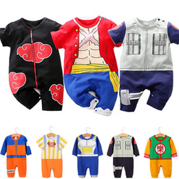 $enCountryForm.capitalKeyWord Australia - 13 Style Baby Romper Toddler One Piece Luffy Onesie Baby Girl Boy clothes Kids Doctor Chopper Jumpsuit Infant Kakarot Akatsuki Costume3M-18M