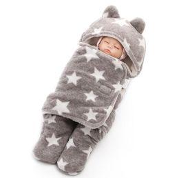 Sac de couchage bébé bébé épais imprimé sac de couchage en velours corail sac de couchage nouveau-né bébé air conditionné était printemps 0-3 ans en Solde