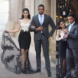 5af2716e28c9 Plus size engagement Party dresses online shopping - Elegant Arabic Evening  Formal Dresses Long White And