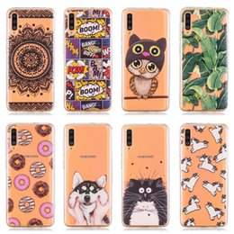 $enCountryForm.capitalKeyWord Australia - Soft TPU Case For Huawei P30 Lite Pro Y6 Y7 2019 Samsung A70 A50 A40 A30 A20 A10 Owl Dreamcatcher Flower Lace Fruit Unicorn Panda Cute Cover