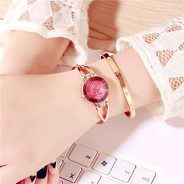rhinestone bands for watch UK - Luxury Watches Women Watch Casual Bracelet Watch Woman Alloy Band Rhinestone Analog Quartz Female Clock Gift For Girls relogio