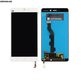 "5.7 lcd Australia - ORIWHIZ Wholesale-5.7"" For Xiaomi Mi Note MiNote LCD Display Touch Screen Panel Digitizer Assembly Replacement Parts White +Free tools"