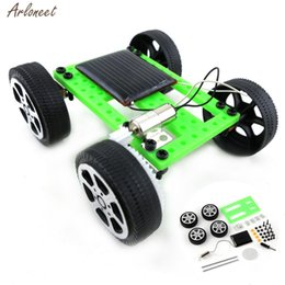 diy car gadgets 2020 - Solar Toys For Kids 1 Set Mini Powered Toy DIY Solar Powered Toy DIY Car Kit Children Educational Gadget Hobby Funny 201