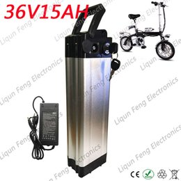 $enCountryForm.capitalKeyWord Australia - Free Customs Tax 36V 15AH Electric Bicycle Kick Scooter lithium ion battery Aluminum shell 18650 Rechargeable Battery 500W Motor.