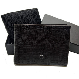$enCountryForm.capitalKeyWord Australia - Business Men's Leather Short Clip Wallet Holder Card Pack Credit Card Holder Pocket Photo Premium Box Free Shipping Gift Dust Bag