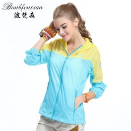 Uv protection clothing online shopping - New women Outdoor Quick Drying skin Windbreaker Sun Protection Clothing Ultra thin Waterproof Breathable UV protection jacket
