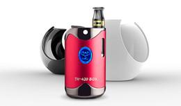 ElEctronic vapor cigarEttE for oils online shopping - 100 Original Vapor Kit Vape Mod for Thick oil mAh Box Mod vape cartridges Thread Battery Ceramic coil Electronic Cigarette