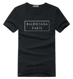 De calidad superior Nueva Marca de Moda de algodón streetwear T-shirt Moda Casual Tshirt Hombres de manga corta TEES Top Tee Impreso TEE B02 en venta