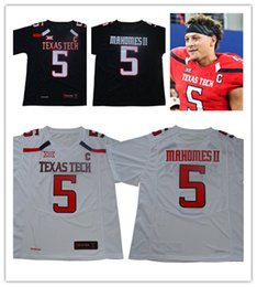 RaideR white online shopping - Mens NCAA Texas Tech Red Raiders Patrick Mahomes II College Football Jersey white black Patrick Mahomes II TTU Red Raiders Jerseys