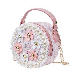 $enCountryForm.capitalKeyWord Australia - Designer-Little Girls Toddler PreK Princess Bag Kids Baby Messenger Crossbody Flower Bag Baby Girls Flower Wallets Handbags Shoulder Bags