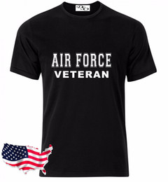 0ee0519c0f Air Force T Shirt VETERAN USAF USMC US Army Navy Marines Military Funny  free shipping Unisex Casual Tshirt top