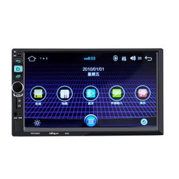 touch screen car systems NZ - 8702 Car Stereo MP5 Player 7 inch Touch Screen 2 Din In-dash Bluetooth Audio Multimedia System car dvd