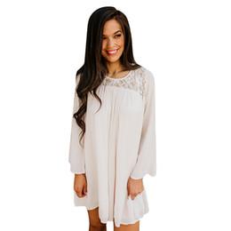 $enCountryForm.capitalKeyWord NZ - 2019 Fashionable high quality Womens Lace O Neck Long Sleeve very comfortable T-shirt Tops camiseta mujer #20