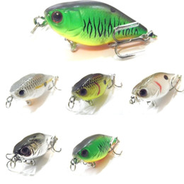 small lures NZ - wLure 4.3g 3.5cm Tiny Lightweight Slow Floating Wide Wobble Size 10 Hooks Crankbait Fishing Lure for Small Size Fish C703 T191016