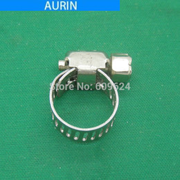 Cool Water Pipes Australia - 5pcs lot for 9-16mm Pipe Nozzle Flexible Hose pipe Clamp Ring for Water Cooling Pipe Tube