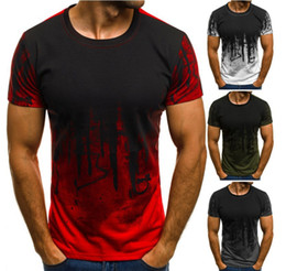$enCountryForm.capitalKeyWord Australia - Men's Short Sleeves T-shirt Fashion Outdoor Sports Fitness Short Sleeves Summer personality fashion Digital Printed T-shir