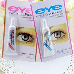$enCountryForm.capitalKeyWord NZ - Eye Lash Glue Black White Makeup Eye Lash Adhesive Waterproof False Eyelashes Adhesives Glue White And Black Available