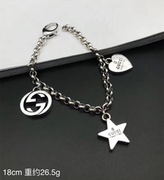 $enCountryForm.capitalKeyWord Australia - 2019 Sterling silver gg Bracelets Brand designer Bangles For Women Girls Gold Silver Color Metal Bracelets Statement Luxury Jewelry