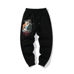$enCountryForm.capitalKeyWord UK - 2019 autumn and winter new European and American ow fashion vampire casual trousers speed pants personality high-end pants 710