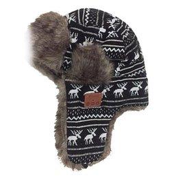 0da7e9f1473b0 Women Men Unisex Wireless Bluetooth Headphone Winter Trapper Hat Thickened  Faux Fleece Adjustable Buckle Hunting Cap With Contro