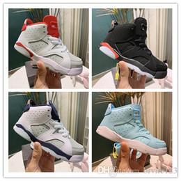 $enCountryForm.capitalKeyWord Australia - 2019 New Girls boys Baby Toddler Shoes Luxury Designer Brand Kids Shoes 6s Athletics Basketball Shoes Children Boy And Gril Sport Sneaker