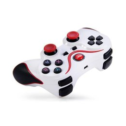 Joystick for tablet online shopping - 2019 hot T3 Wireless Bluetooth Gamepad Joystick Game Gaming Controller Remote Control For Samsung HTC Android Smart phone Tablet TV Box