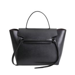 Luxury Purse Genuine Leather Handbag Belt Knot Designer Inspired Trapeze  Phantom Bag Crossbody Shoulder Purse For Women 14f91ddda0c4e