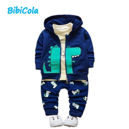 $enCountryForm.capitalKeyWord NZ - good qulaity 3pcs Autumn Spring Infant Outfits Newborn Baby Clothing Set Baby Boys Casual Hoodie Tops Long Pants Baby Tracksuit Set