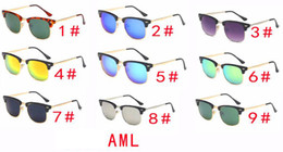 pc protectors NZ - summer MEN metal frame fashion sun glasses cycling glasses women Outdoor Wind eye protector sunglasses cycling glasses A++ free shipping