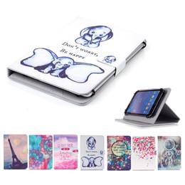$enCountryForm.capitalKeyWord Australia - Cartoon Printed Universal 7 inch Tablet Case for Samsung Galaxy Tab A 7.0 2016 T280 T285 Cases kickstand PU Flip Cover Cases
