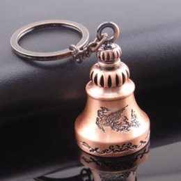 Wholesale Bell Keychain Creative Metal Pendant Mini Commodity Outdoor Survival Small Gift Hiking Camping Tools