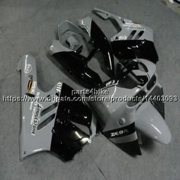 96 Kawasaki Zx9r Australia - 5Gifts+Custom gray black motorcycle Fairing For Kawasaki ZX9R 1994 1995 1996 1997 ZX-9R 94 95 96 97 ZX 9R ABS plastic kit