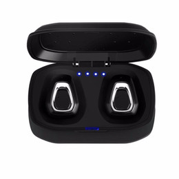Iphone Handfree Australia - 2019 A7 TWS Wireless Bluetooth Headset Stereo Handfree Sports Bluetooth Earphone With Charging Box For iphone Android Smart Phones