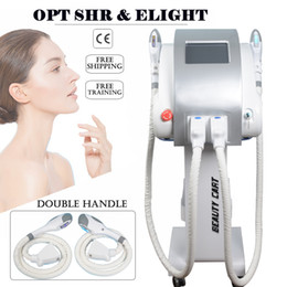 China New Arrival ipl shr laser hair removal machine sales machine IPL Intense Pulsed Light Laser hair remover Facial Vein Removal machines cheap facial rejuvenation laser machine suppliers