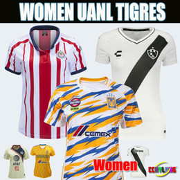 2019 Mexico Club UANL Women Soccer Jerseys 18 19 20 Club de Cuervos Chivas  Club America Home Away Third Girls 2018 Football Shirts 2322affcb
