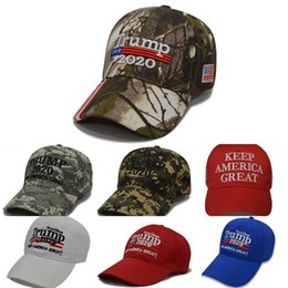 star domes NZ - Donald Trump 2020 Baseball Cap Make America Great Again Hat Star Stripe Usa Flag Camouflage Sports Cap #582