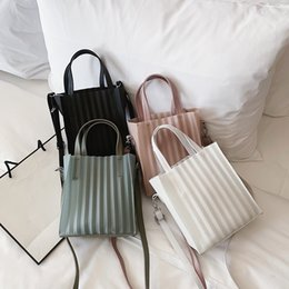 Material jelly online shopping - Bag female new ladies jelly package factory direct transparent material portable women tote bag