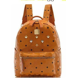 $enCountryForm.capitalKeyWord Australia - Hot Summer Fashion Women School Bags Hot Punk style Men Backpack designer Backpack PU Leather Lady Bags Big and Small Size
