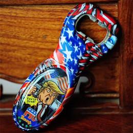 $enCountryForm.capitalKeyWord Australia - Trump 2020 Bottle Opener Novelty Voice Opener Toys Corkscrew Make a Sound High Hardness Portable Resistance To Fall 8xy k1