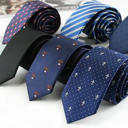 Groomsmen Ties Australia - Men's Tie Narrow Fashion Marriage Groom's Groomsman Leisure Tie 6CM Business Professional Tie Wholesale